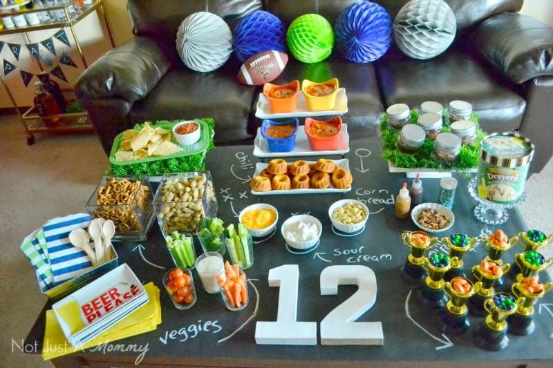 Big Game Party table #GameTimeMVP #CollectiveBias #shop