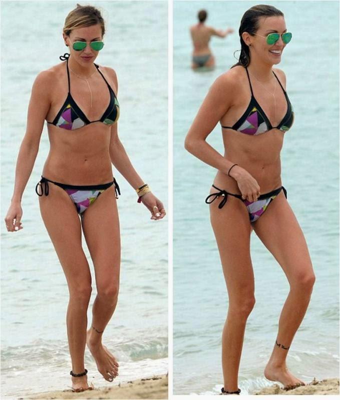 PilyQ Bikini worn by Katie Cassidy