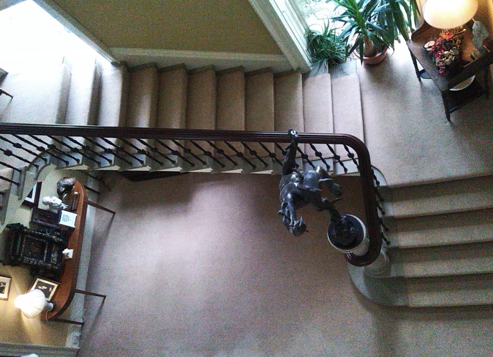 Staircase in Ballinkeele House
