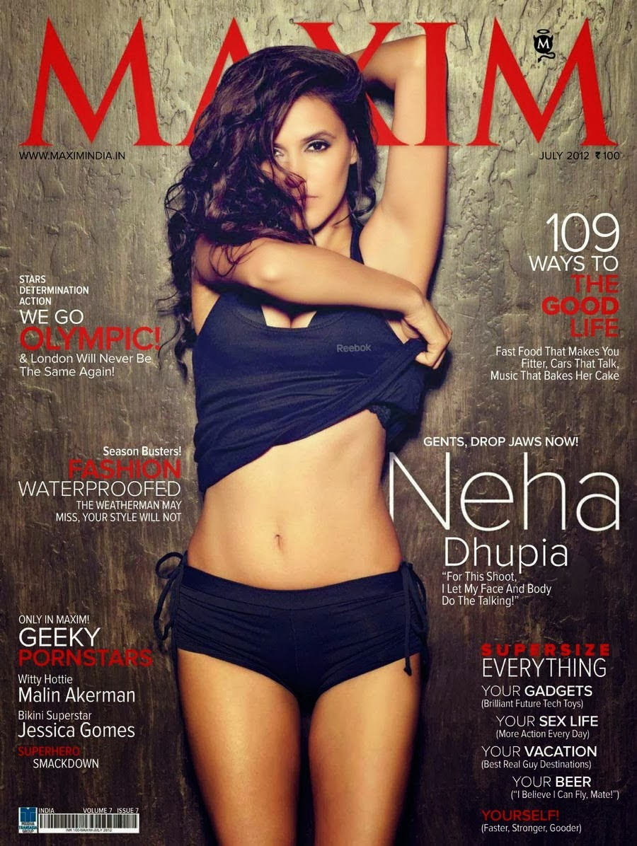 neha-dhupia-on-maxim-magazine-july-2012-cover-page