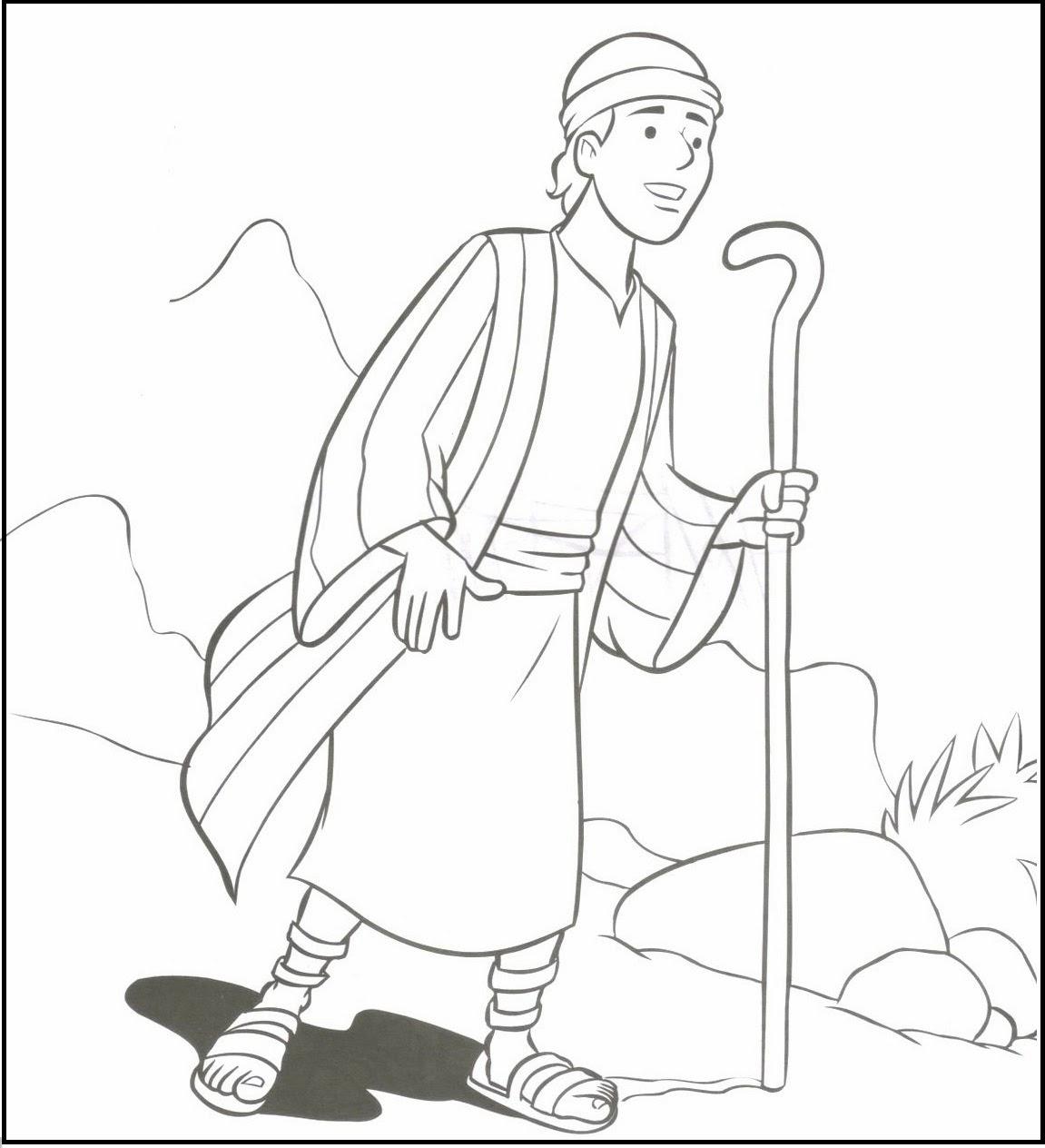 Imagenes Cristianas Para Colorear: Dibujos Para Colorear De Los ...