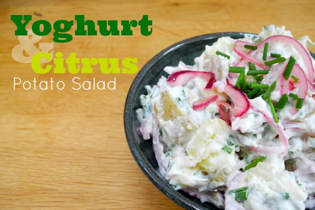 Yoghurt & Citrus Potato Salad