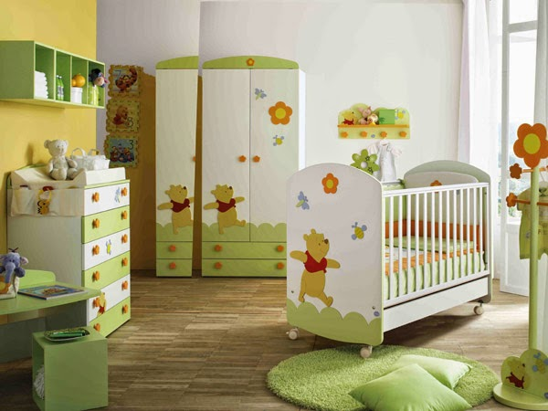 Winnie the pooh inspiration for your best baby room for Winnie the pooh bedroom designs