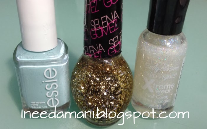 essie mint candy apple nicole opi selena gomez kissed at midnight sally hansen disco ball