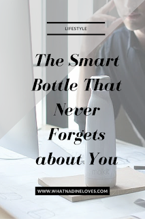 Seed - The Smart Bottle That Never Forgets about You - Drinking enough water is important to your health. How to Drink More Water. // www.whatnadineloves.com