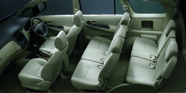 Product latest price 2011 toyota avanza facelift price in for Innova interior 8 seater