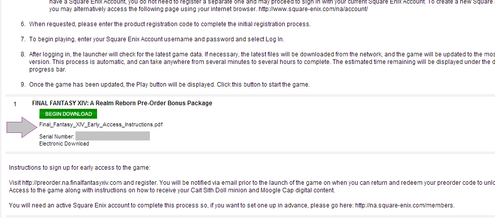 square enix store no unlock activation key button