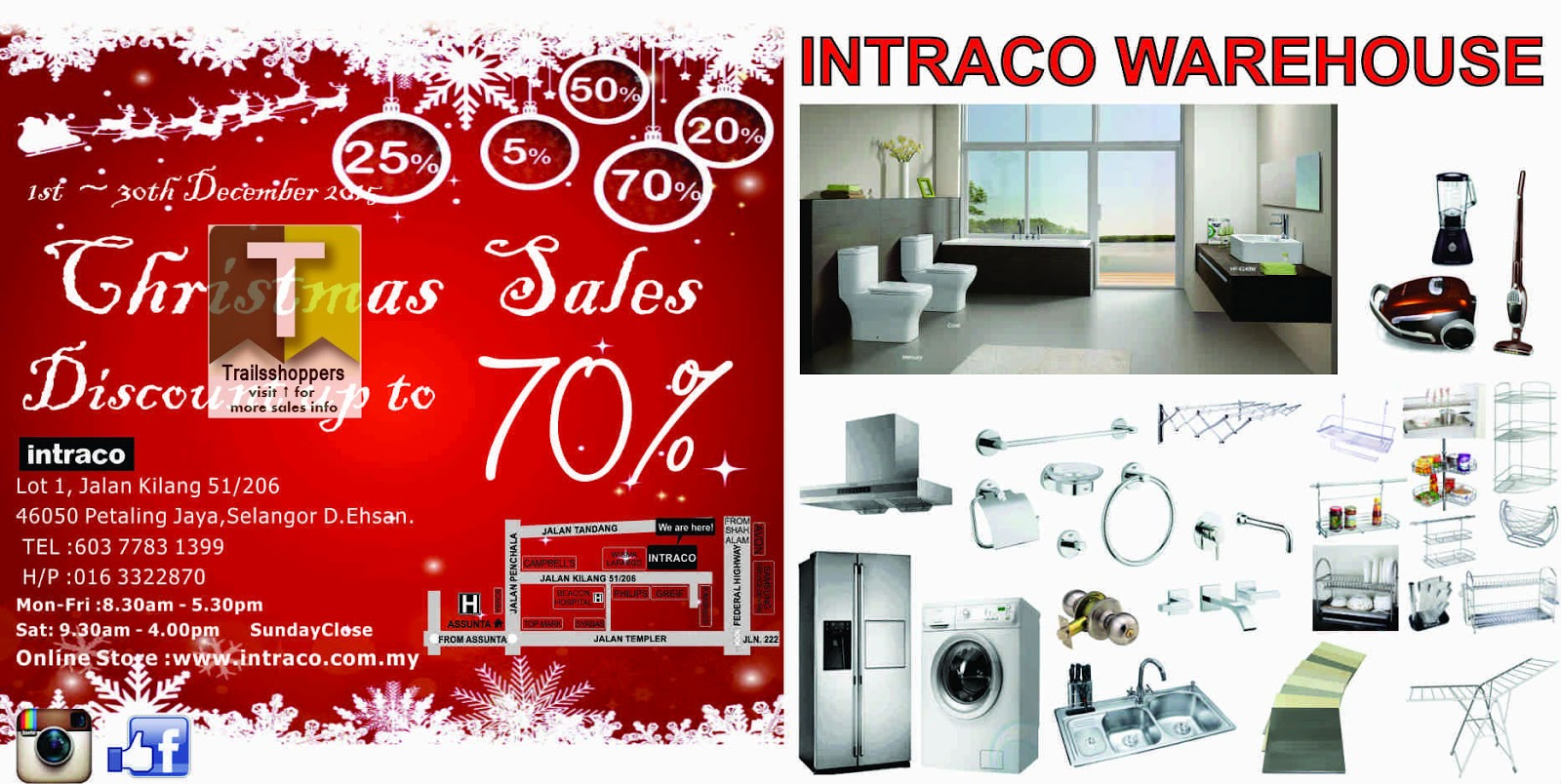 Intraco Warehouse Sales 2015