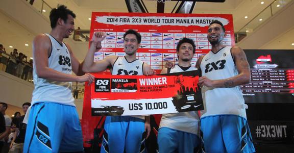 2014 FIBA 3x3 World Tour Manila - Results, Updates & Replay Videos
