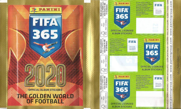 Tsimikas Meriah Jose Sa Panini Fifa 365 2020 Sticker 212