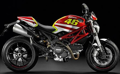 Ducati Monster 796 : Rossi GP replica