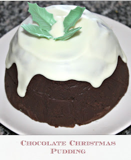 Christmas pudding, chocolate