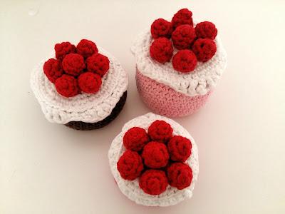 fraisier gateau crochet tuto dinette
