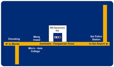 Banco de Oro BDO Iba Zambales Philippines