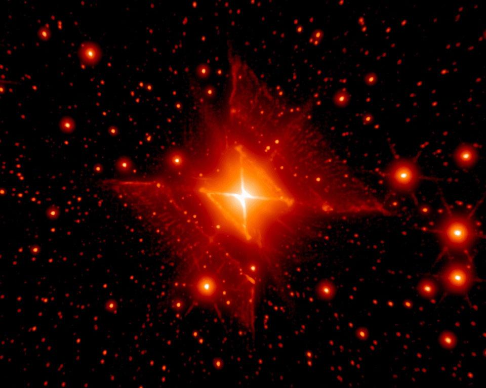 Resultado de imagen para Nebulosa Rectángulo Rojo (HD 44179)