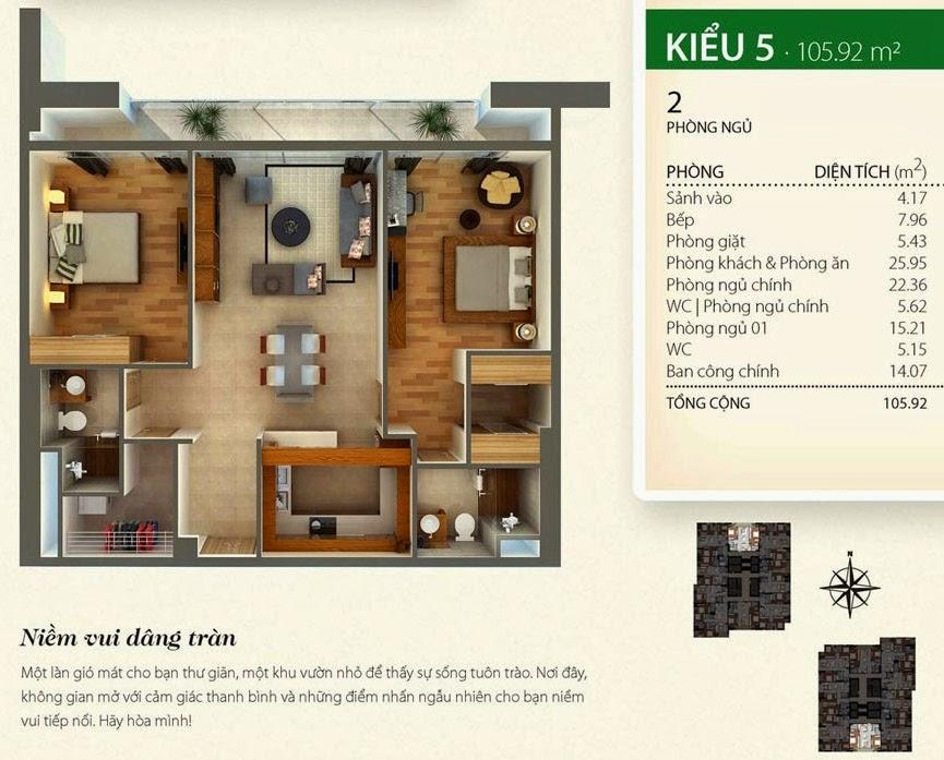 layout căn hộ Thảo Điền Pearl