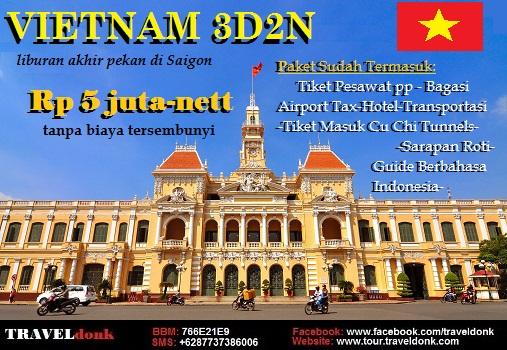 Paket Tur ke Ho Chi Minh City