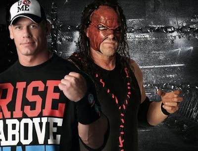 John Cena vs kane en elimination chamber ppv de la WWE