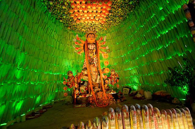 Durga Puja 2012 : Lake Range