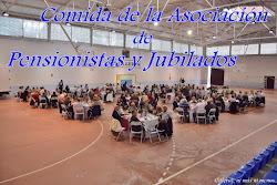 COMIDA ASOC. PENSIONISTAS Y JUBILADOS