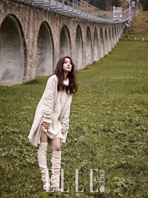 Han Ji Min - Elle November 2014