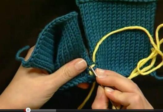 Как аккуратно сшить вязаную вещь 18