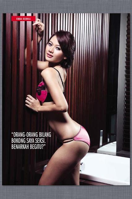 Emma Kurnia, Model Panas Majalah FHM Indonesia 2013