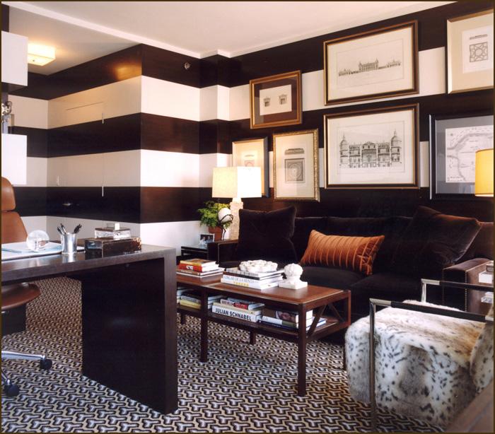 stylized design currently loving horizontal stripes. Black Bedroom Furniture Sets. Home Design Ideas