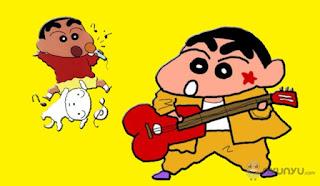 gambar kartun sincan