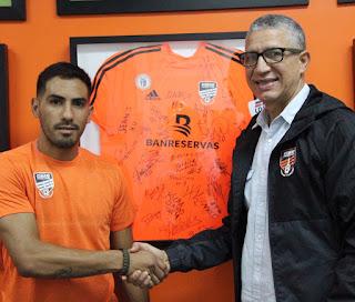 CIBAO FC ANUNCIA AL VOLANTE OFENSIVO ARGENTINO EZEQUIEL PEREZ