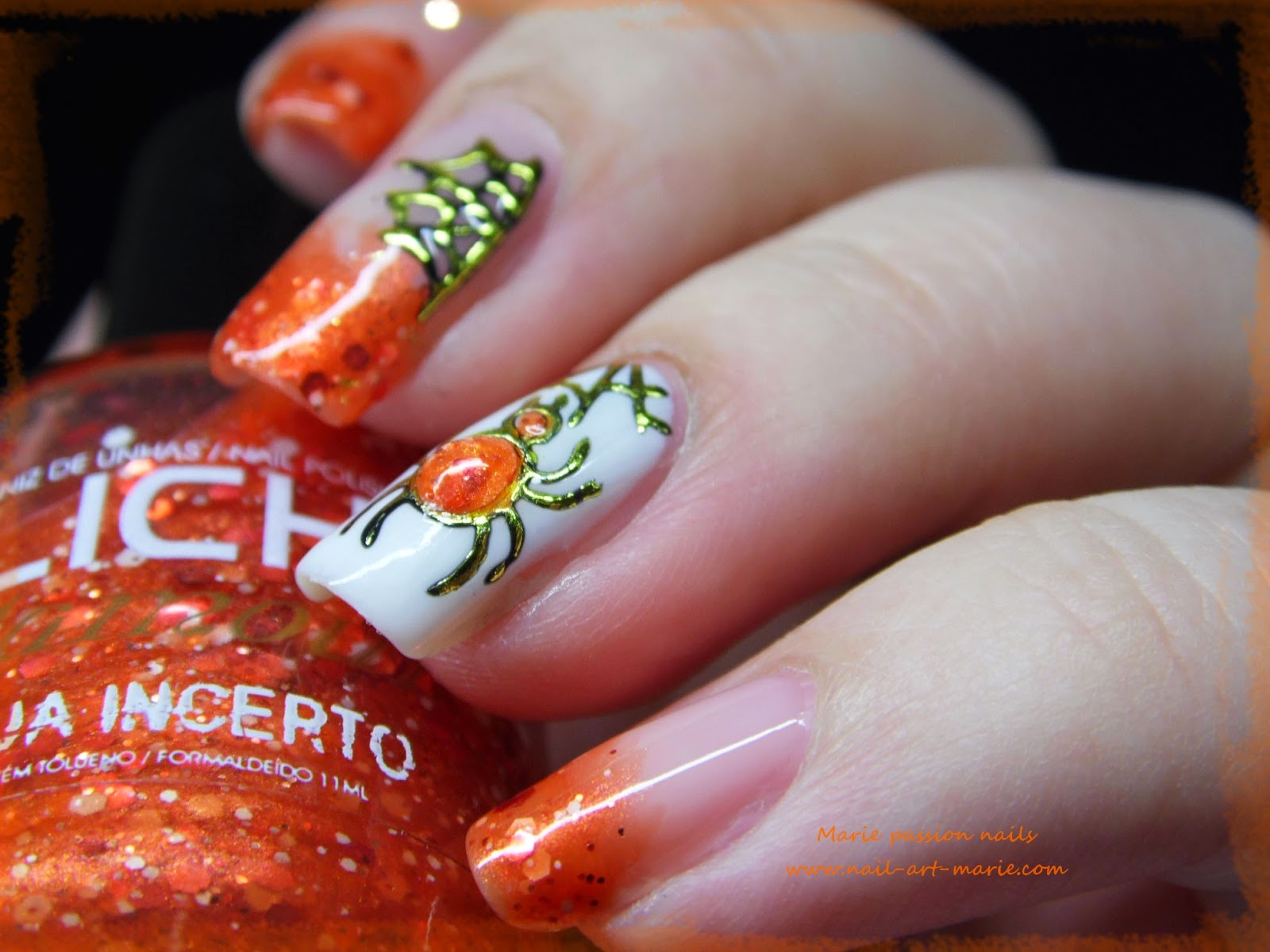 Nail Art Halloween Chic4