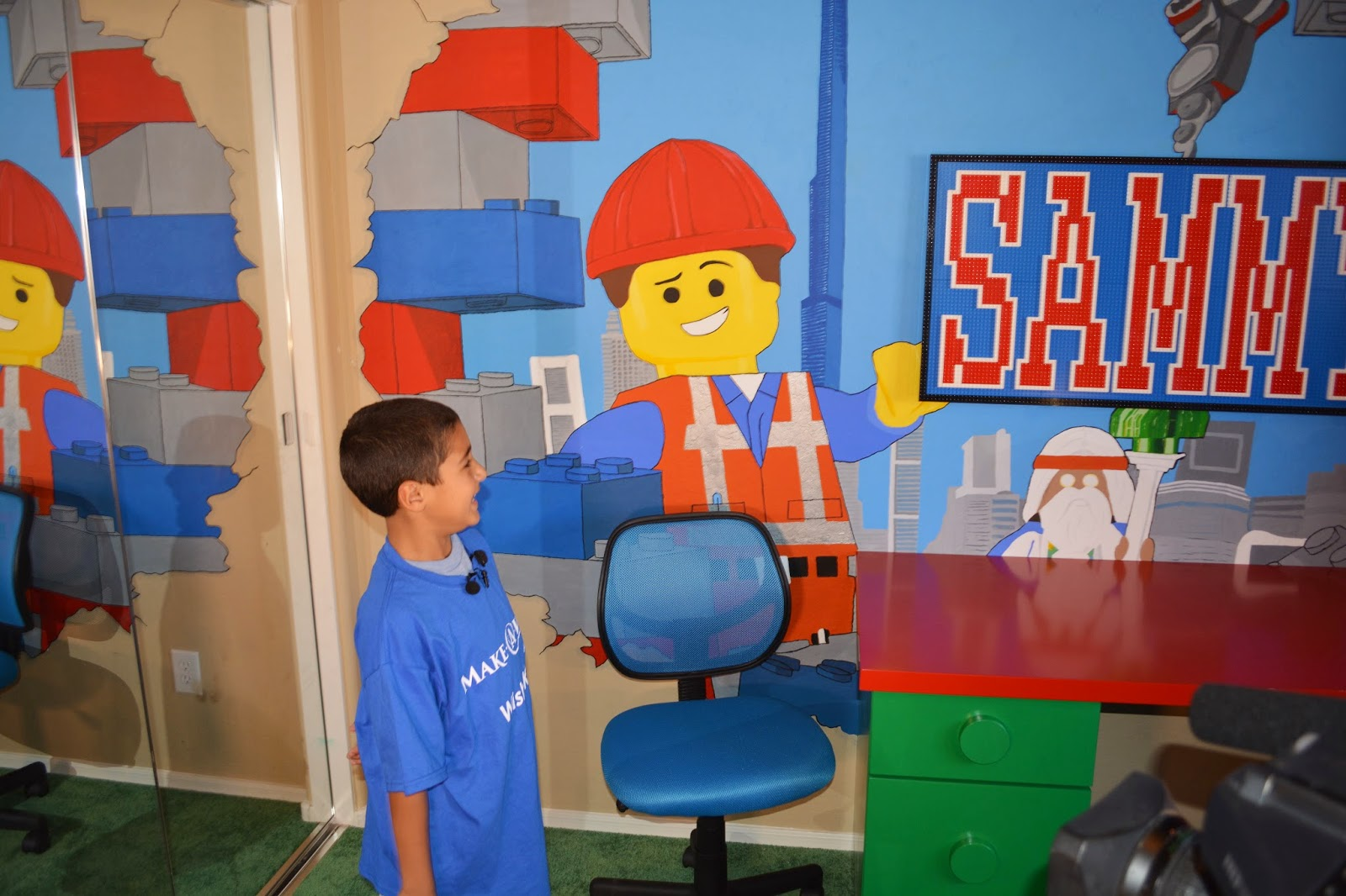 Heidi Schatze Team Sammy Lego Bedroom