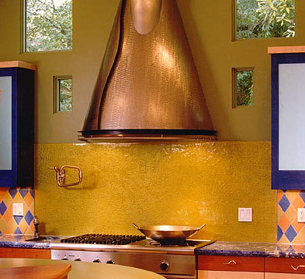 yellow kitchen splashback the kitchen design