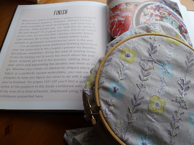 Inspiration from Rebecca Ringquist's Embroidery Workshops book