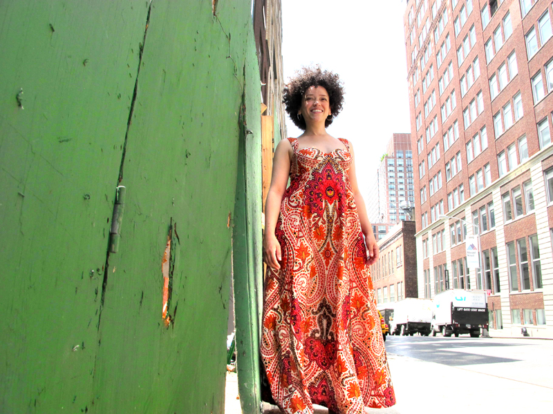 oonaballoona | draped maxi dress | marcy harriell
