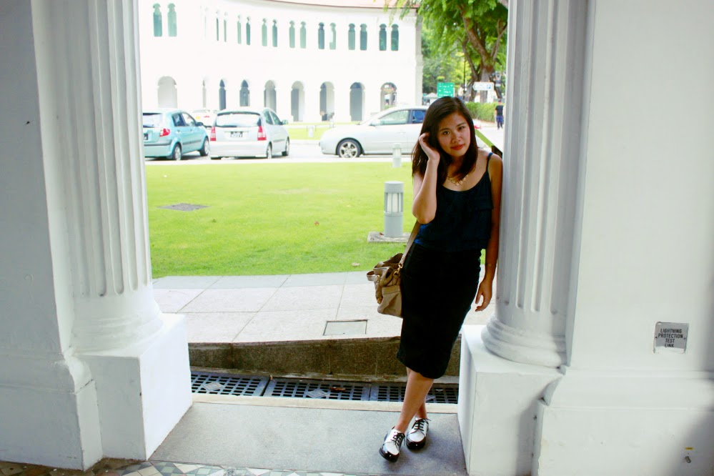 ootd, photography, lookbook, museum, singapore blogger, xincerely