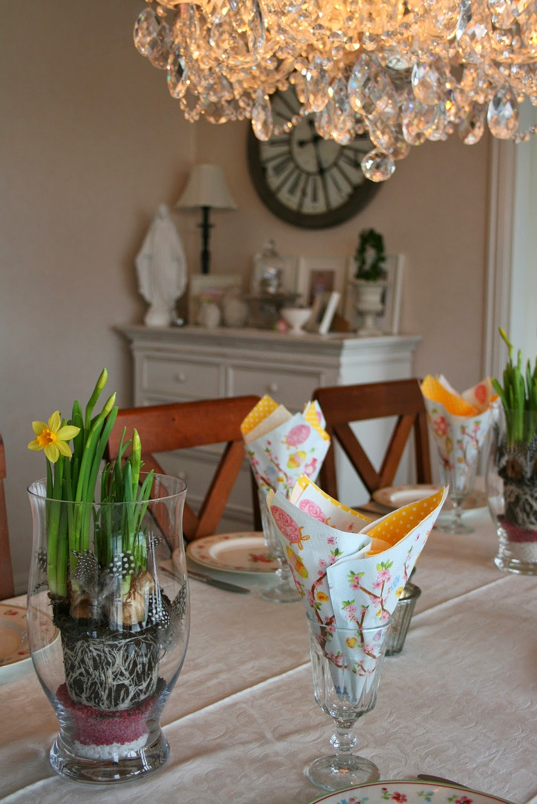 blomsteroppsatser til påske