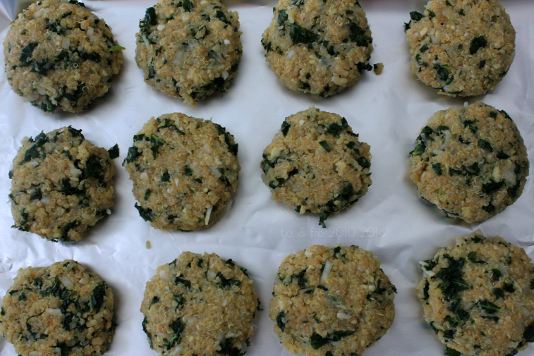 kale and quinoa patties recipe