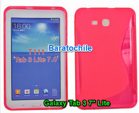 "Carcasas Galaxy Tab 3 7"" Lite T110 T111"