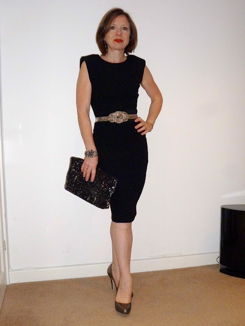 Claire+LBD11 Working Your LBD & Some Fab Neck Candy