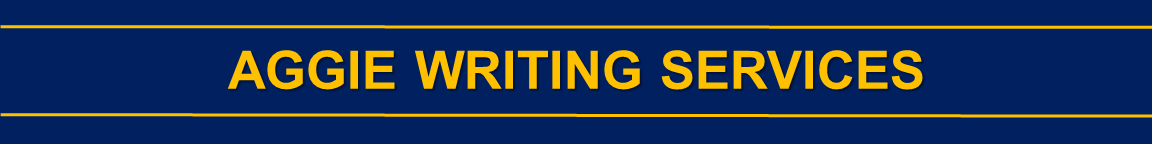 Aggie Writing Services