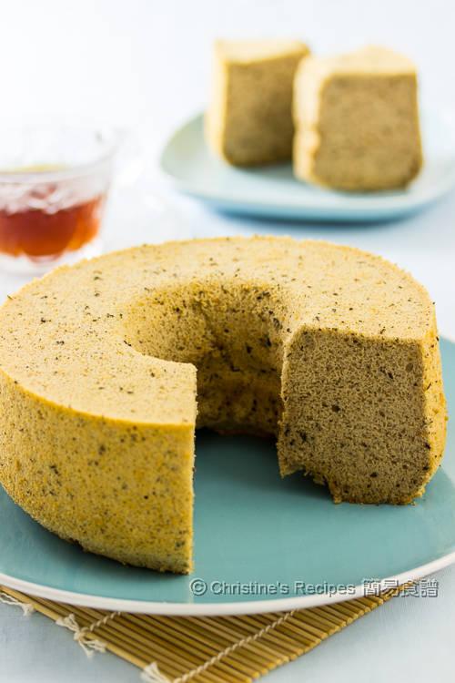 Earl Grey Tea Chiffon Cake Recipe