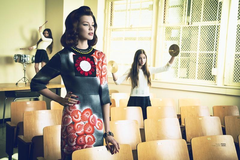 Elle Mexico April 2013 issue - Prada