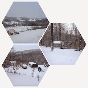 A surprise snow storm!