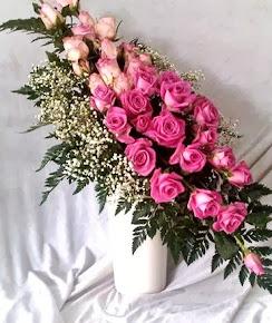 Bunga Mawar Ungu Mewah