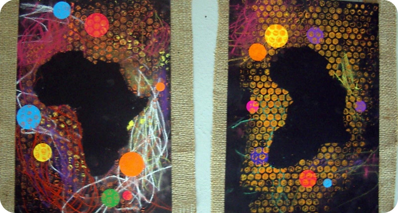 Berühmt Mickaëlle Delamé: Eveil en arts plastiques: African project ZW01