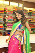 Anukruthi Glam pics in half saree-thumbnail-5