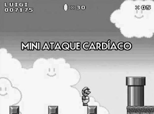 Cuando juego Super Mario