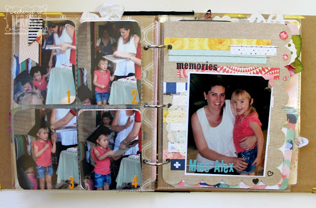 Kindy Graduation mini album by Bernii Miller for BoBunny using the Sweet Life collection.