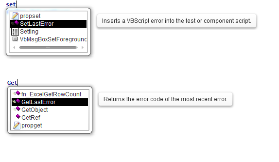 of on error resume next vbscript
